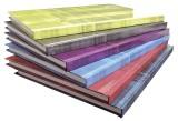 Clairefontaine Notizbuch - A4, 96Blatt, kariert, farbig sortiert Kladde kariert A4 96 90 g/qm