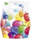 amscan Partytüte Balloon - 8 Stück Partytüte Balloon 16,5 cm 23 cm Plastik