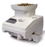 Safescan 1550 - Hochgeschwindigkeitszähler für Münzen aller Währungen Münzzähler alle grau