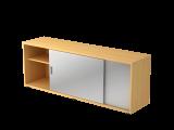 Sideboard 1,5OH beids.nutzbar Buche/Silber