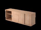 Sideboard 1,5OH beids.nutzbar Nussb./Nussb.