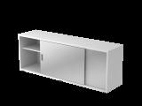 Sideboard 1,5OH beids.nutzbar Weiß/Silber