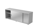 Sideboard 1,5OH beids.nutzbar Graphit/Weiß
