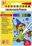 Eberhard Faber Zaubermarker 10er Kartonetui Faserschreiberetui 18 Zauberfarben 1 - 2 mm Rundspitze