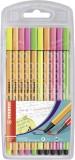 Stabilo® Fineliner / Premium-Filzstift point 88® / Pen 68 Etui Faserschreiberetui