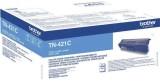 Brother® Toner blau, 1.800 Seiten, TN421C Lasertoner