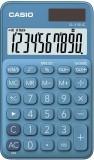 Casio® Taschenrechner SL-310 - Solar-/Batteriebetrieb, 10stellig, LC-Display, blau Taschenrechner