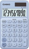 Casio® Taschenrechner SL-310 - Solar-/Batteriebetrieb, 10stellig, LC-Display, hellblau hellblau