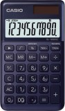 Casio® Taschenrechner SL-1000 - Solar-/Batteriebetrieb, 10stellig, LC-Display, dunkelblau