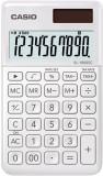 Casio® Taschenrechner SL-1000 - Solar-/Batteriebetrieb, 10stellig, LC-Display, weiß Taschenrechner