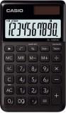 Casio® Taschenrechner SL-1000 - Solar-/Batteriebetrieb, 10stellig, LC-Display, schwarz schwarz