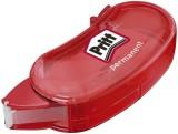Pritt Kleberoller Mini - Einweg, 5 mm x 6 m, rot flexible Spitze Kleberoller permanent 6 m x 5 mm