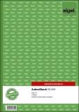 SIGEL Aufmaßbuch - A4, SD, MP, 50 Blatt Aufmaßbuch A4 50 Blatt