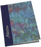 DFW Adressbuch Marmor - A6, blau Adressbuch A6 Register A-Z 112