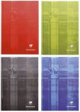 Clairefontaine Notizbuch - A5, 96 Blatt, liniert, farbig sortiert Kladde liniert A5 96 90 g/qm