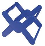 HAN Hängeregistraturkorb X-CROSS - für 35 Hängemappen, blau inkl. möbelschonende Gummifüße