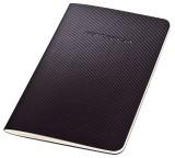 SIGEL Notizheft CONCEPTUM® - ca. A6, kariert, 32 Blatt, schwarz Notizbuch A6 kariert 32 Blatt
