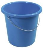 Eimer - Plastik, rund, 10 Liter, blau Wischeimer grau 10 Liter