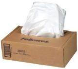 Fellowes® Aktenvernichter Abfallsack - 30 - 35 Liter, 100 Stück In praktischer Spenderbox.