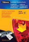 Fellowes® Carrier Reinigungs- und Schutzkarton - A4, weiß, 10 Stück Carrier A4