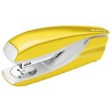 Leitz 5502 Büroheftgerät NeXXt - 30 Blatt, Metall, gelb metallic Heftgerät 30 Blatt