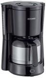 SEVERIN Kaffeemaschine Type - Thermo Edelstahl, schwarz Kaffeemaschine schwarz