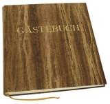 DFW Gästebuch - braun, 270 Seiten, blanko, Einband Papyrus Gästebuch neutral 270 cremefarben 25 cm