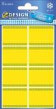 Avery Zweckform® Z-Design 59373, Tiefkühl-Etiketten, 5 Bogen/40 Etiketten Etiketten 28 x 36 mm 40