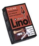 Exacompta Linolschnitt Besteck - 8 tlg. Linolschnittbesteck