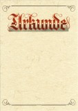 RNK Verlag Urkunde Aufschrift Urkunde (Elefantenhautpapier), 190g/qm, weiß, DIN A4 A4 weiß