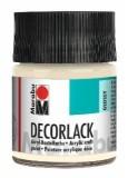 Marabu Decorlack Acryl, Elfenbein 271, 50 ml Decorlack elfenbein 50 ml