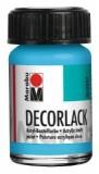 Marabu Decorlack Acryl, Hellblau 090, 15 ml Decorlack 15 ml hellblau