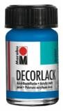 Marabu Decorlack Acryl, Azurblau 095, 15 ml Decorlack 15 ml azurblau