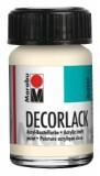 Marabu Decorlack Acryl, Elfenbein 271, 15 ml Decorlack 15 ml elfenbein
