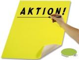 Folia Plakatkarton - 48 x 68 cm, leuchthellgrün leuchthellgrün 380 g/qm 48 cm 68 cm