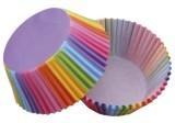 Backförmchen Cupcake - Ø 50 mm, 50 Stück, Regenbogen Backform 50 mm Papier 50 Stück