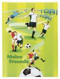 Goldbuch Freundebuch Championship - A5, 88 illustrierte Seiten Freundebuch Fussball A5