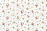 d-c-fix® Klebefolie - 45 cm x 2 m, weiß, Blümchen Selbstklebefolie Sunflor weiß Blümchenmuster