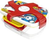 Maped Brotbox Kids CONCEPT Comics - bunt, 253 x 80 x 188 mm 3 Fächer, abnehmbarer Drehverschluss