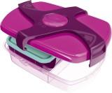 Maped Brotbox Kids CONCEPT - pink, 253 x 80 x 188 mm 3 Fächer, abnehmbarer Drehverschluss Brotdose