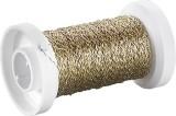 KNORR prandell Basteldraht - Ø 0,25 mm, 50 m, Bouillon-Effekt, gold Basteldraht gold Ø 0,25 mm