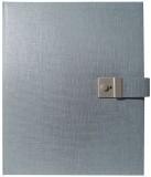 Goldbuch Dokumentenmappe Summertime Trend - 27,5 x 34 cm, blau/grau Dokumentenmappe Summertime Trend