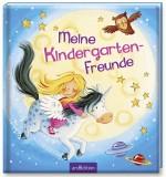 arsEdition Meine Kindergarten-Freunde Einhorn - 64 illustrierte Seiten mit Gitter-Effekt, 20 x 21,5 cm