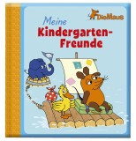 arsEdition Meine Kindergarten-Freunde - 64 illustrierte Seiten, 20 x 21,5 cm Freundebuch Maus 20 cm