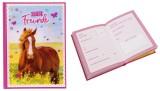 Goldbuch Freundebuch 3D Pferdeliebe - 88 illustrierte Seiten, A5 3D-Effekt durch echtes 3D-Bild A5