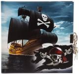 Goldbuch Tagebuch Piraten! - 16,5 x 16,5 cm, 96 Seiten mit Schloss Tagebuch Piraten 96 weiße Seiten