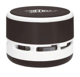 WEDO® Mini-Tischstaubsauger - schwarz/weiß inkl. Batterien Staubsauger schwarz/weiß 8,5 cm 6,3 cm