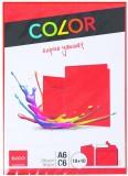 Elco Doppelkarten mit Kuverts - A6/C6, 10/10 Stück, rot Doppelkarte A6 (148 x 105 mm) rot 200 g/qm