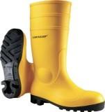 Dunlop Sicherheitsstiefel Protomastor - Größe 44, gelb Sicherheitsstiefel 44 gelb PVC Stahl