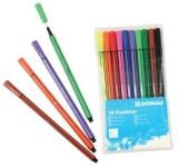 DONAU Fineliner - 0,4 mm, 10 Farben sortiert Finelineretui 10 Farben sortiert 0,4 mm
